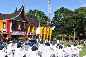 Pemkab Agam Peringati Hari Otoda ke-23 dan Hardiknas Tahun 2019