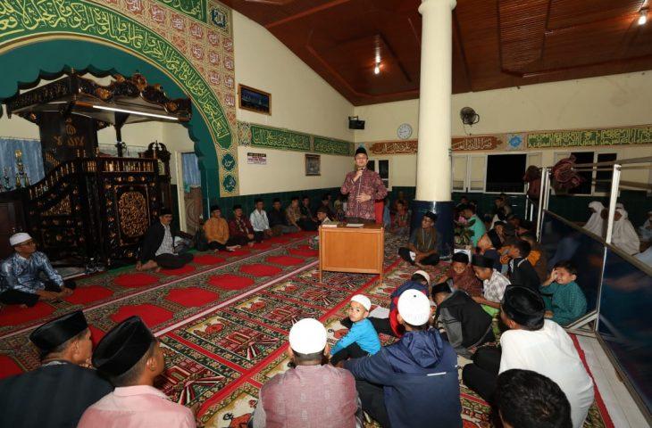 TSR Agam Kunjungi Masjid Shabar Simarasok, Wabup Tampung Aspirasi Masyarakat