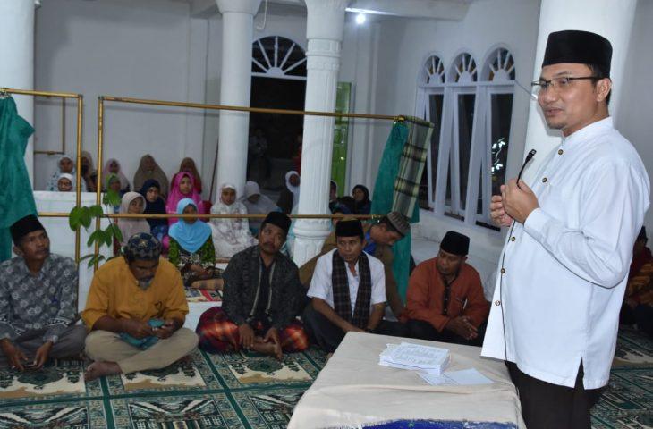 Kunjungi Masjid di Haraban, Wabup Paparkan Program Strategis Kabupaten Agam