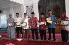 Lomba Thaharah Masjid di Ampek Angkek, Ini Pemenangnya