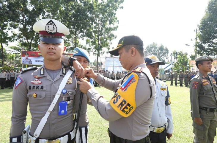 Polres Agam Apel Gelar Pasukan Operasi Ketupat 2019, 200 Personel Disiapkan