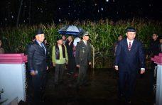 Diguyur Hujan, Renungan Suci Makam Pahlawan Manggopoh Berjalan Khidmat