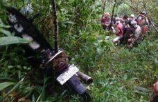 Satgas TRC BPBD Agam Evakuasi Jenazah Darussalam dari dalam Jurang
