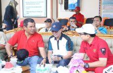 Hadiri HUT Bhayangkara ke 73 di Polres Bukittinggi, Sekda: Selamat Polri!