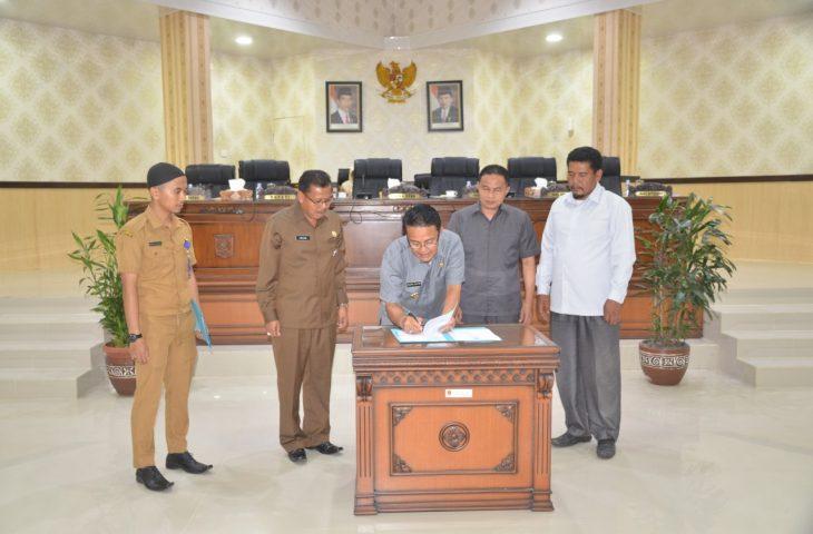 Pemda Agam dan DPRD Sepakati KUPA-PPAS Perubahan APBD 2019