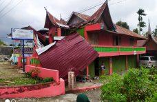 Tujuh Rumah Rusak Dihantam Puting Beliung di Tilkam