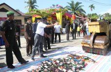 Sekda Agam Hadiri Perayaan HUT Bhayangkara ke-73 di Polsek Tanjung Mutiara