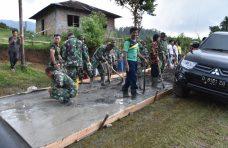 Partisipasi Masyarakat Tinggi Dukung TMMN, 2,2 Kilometer Jalan Dibuka di Palembayan