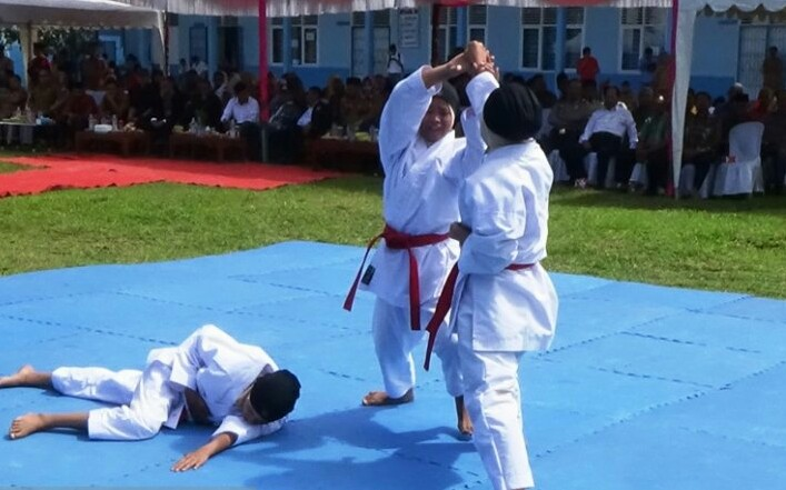 SMKN 2 Lubuk Basung Tuan Rumah O2SN Kabupaten Agam 2019