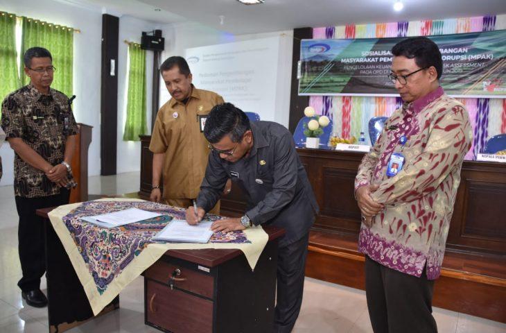 Camat dan Wali Nagari di Agam Dapat Pengembangan MPAK dari BPKP Sumbar