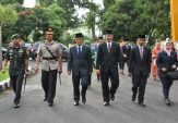 Indra Catri Pimpin Upacara Peringatan 26 Tahun Lubuk Basung sebagai Ibukota Kabupaten Agam