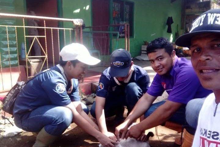 Mahasiswa FKH-IPB Lakukan Abdi Nusantara XIII di Agam