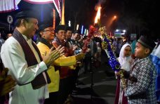 Ribuan Masyarakat Semarakkan Malam Takbiran Idul Adha di Agam