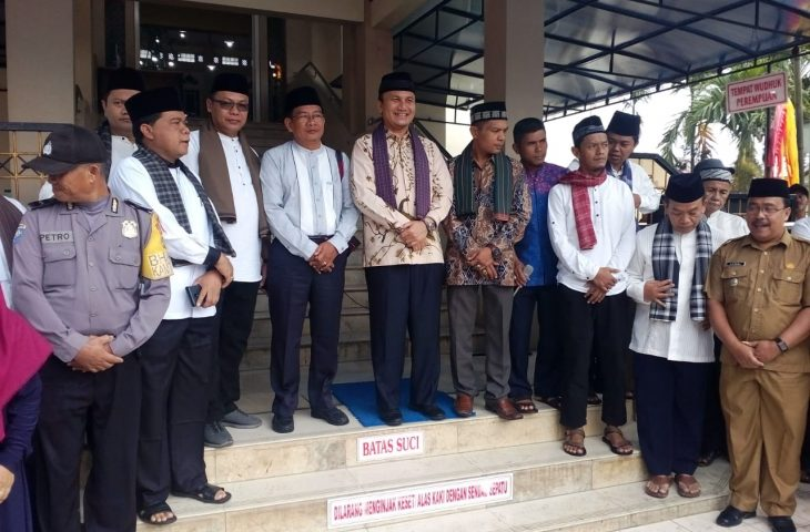 Hadiri Pelepasan Pawai Khatam Al-quran di Padang Lua, Wabup: Mari Perbanyak Kegiatan Keagamaan