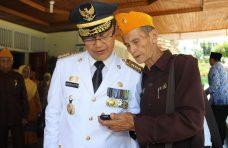 Pemkab Agam Ucapkan Terima Kasih, Pejuang Veteran Terharu