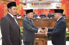 45 Anggota DPRD Agam Dilantik, Novi Irwan dan Suharman Pimpinan Sementara