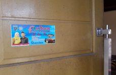 Kampanye Ayo Makan Ikan, Pemerintah Nagari Manggopoh Pasang Stiker di Rumah dan Tempat Umum