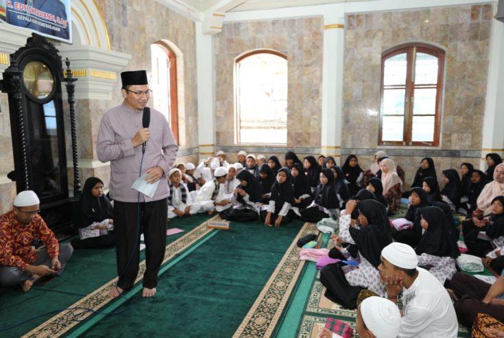 Wakili Agam, 110 Santri LDS Masjid Suhada Nagari Sariak Dinilai Tim Provinsi