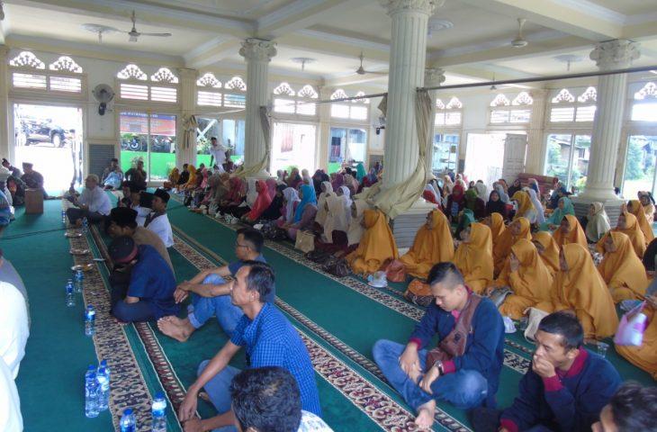 Kerjasama dengan UNP, Nagari Manggopoh Gelar Tabligh Akbar