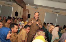 ASN Agam Ikuti Diklat Leadership Training, Wabup Jadi Narasumber
