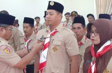 Ketua Kwarcab Agam Lantik Kwarran Palembayan