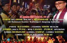 Semarakkan Tahun Baru Islam, Kecamatan Ampek Angkek Gelar Festival Muharram