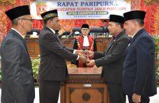 Novi Irwan Resmi Pimpin DPRD Agam Lima Tahun ke Depan