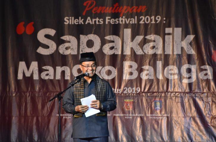 Penutupan Silek Arts Festival 2019, Agam Tampil sebagai Pamungkas