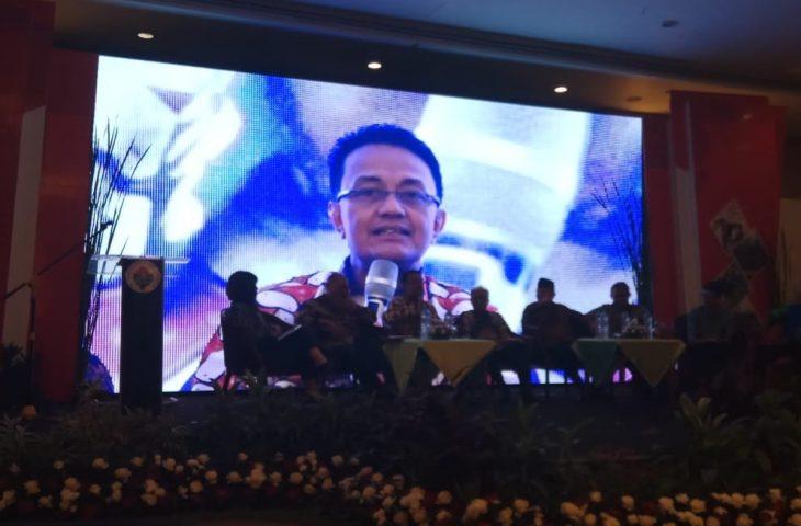 Hadiri Rakor Regional PIID-PEL 2019, Indra Catri Didaulat sebagai Pembicara.