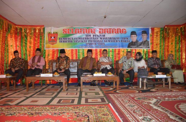 LPMN Canduang Koto Laweh Dikunjungi Tim Penilai Lapangan Provinsi