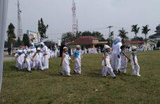 250 Anak PAUD di Matur Ikuti Peragaan Manasik Haji