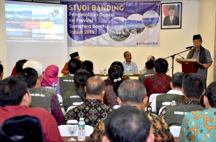 Provinsi Bali Studi Banding Pengelolaan Danau ke Agam
