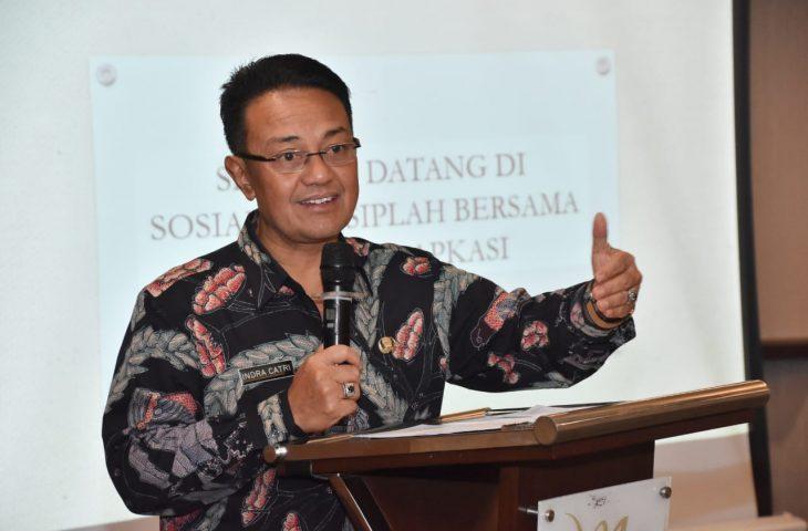 Buka Workshop SIPLah, Indra Catri : Pengelolaan PBJ di Sekolah Diharapkan Bisa Transparan