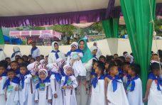 Ribuan Murid PAUD dan TK se-Banuhampu Ikuti Peragaan Manasik Haji