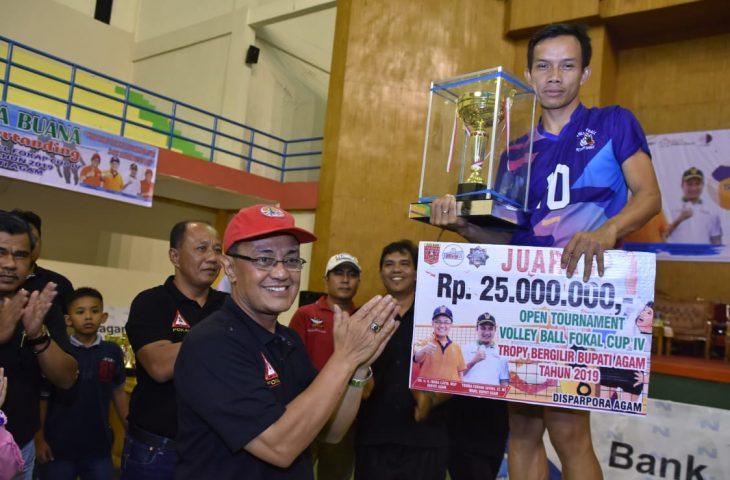 SKR Bekasi Juara Open Turnamen Bola Voli Fokal Cup IV