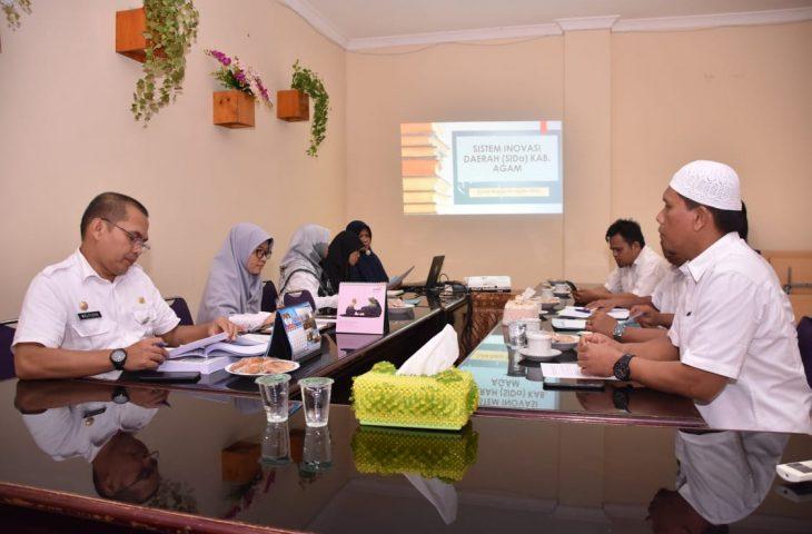 Pemkab Paluta Studi Tiru Penyusunan Dokumen SIDa ke Agam