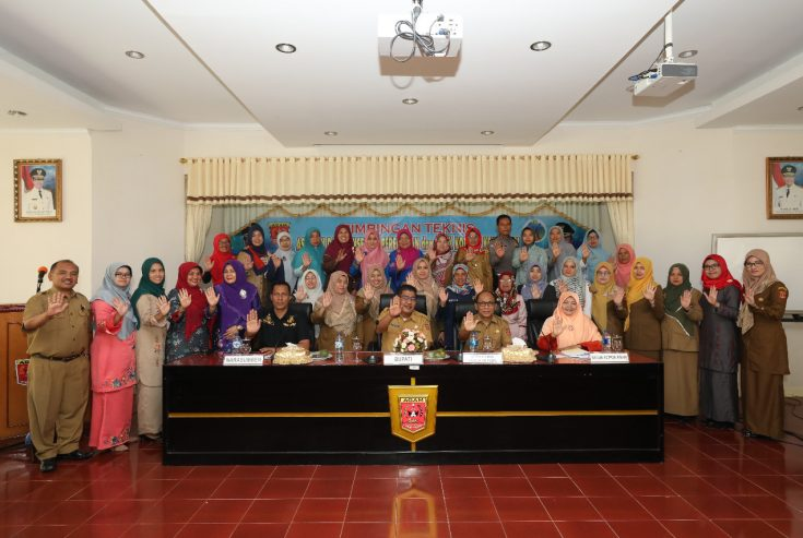 Antisipasi Kekerasan Perempuan dan Anak, Pemkab Agam Gelar Bimtek bagi Kader P2TP2A