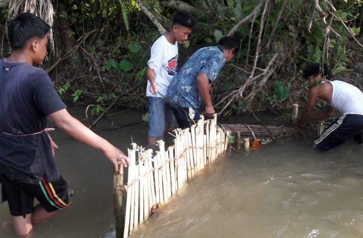 Jago Menangkap Ikan, Yuk Ikuti Tradisi di Sungai Larangan Kubu Anau