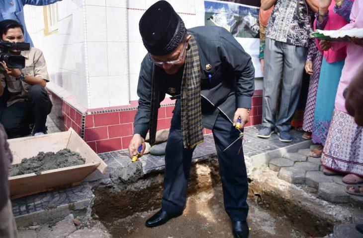 Masyarakat Taluak Bangun Surau Al-Ikhlas, Indra Catri: Ini Mambangkik Batang Tarandam
