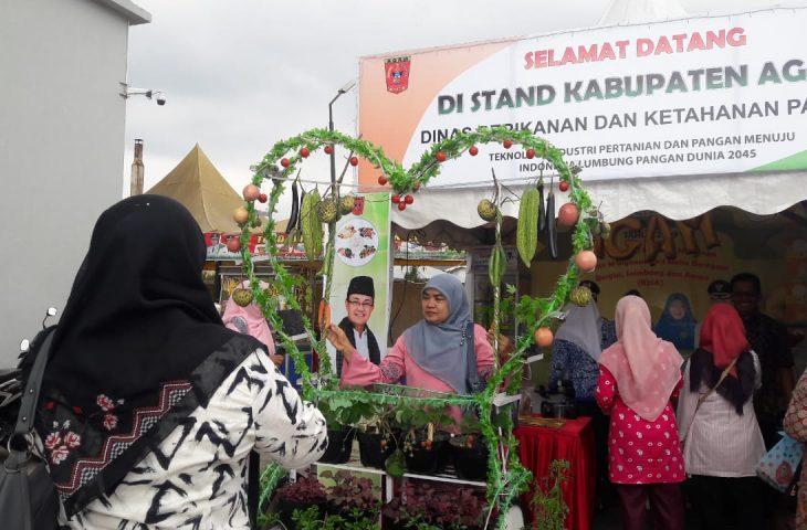 Unik, Stand Agam di Peringatan HPS ke-39 Diminati Pengunjung