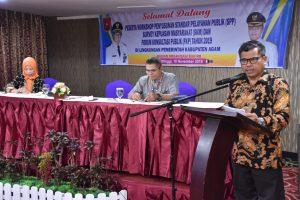 Pemkab Agam Gelar Workshop Teknis Penyusunan SPP, SKM dan FKP