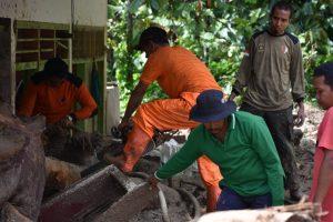 Lima Unit Rumah Terdampak Bencana di Sungai Rangeh, Pembersihan Mulai Dilakukan