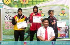 Membanggakan, Siswi SMAN 1 Tanjung Mutiara Raih Emas di Siak Open Championship 2019