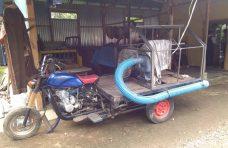 Nagari Duo Koto Olah Betor Jadi Motor Damkar