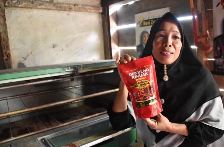 Promosi Melalui Media Sosial, Kuliner Olahan Rinuak Ini Tembus Pulau Jawa