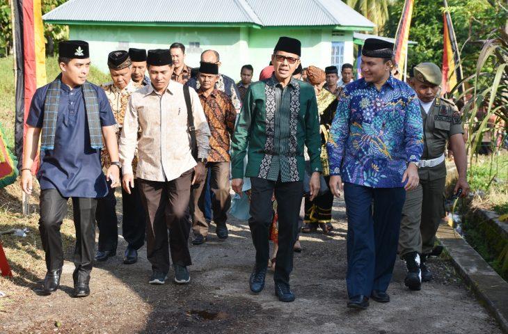 Puluhan Tahun tak Beroperasi, MTs Muhammadiyah Sitalang Kembali Dibuka