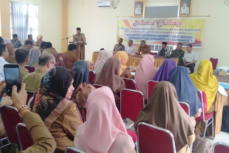 Musrenbang Kecamatan, Tanjung Mutiara Fokus Bangun Ekonomi Kerakyatan