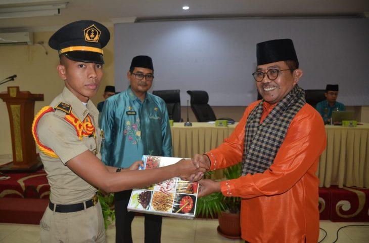 67 Madya Praja IPDN Studi Lapangan ke Pemkab Agam