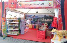 Bazar HUT IKMR ke-50, Pemkab Agam Tampilkan Berbagai Produk UMKM