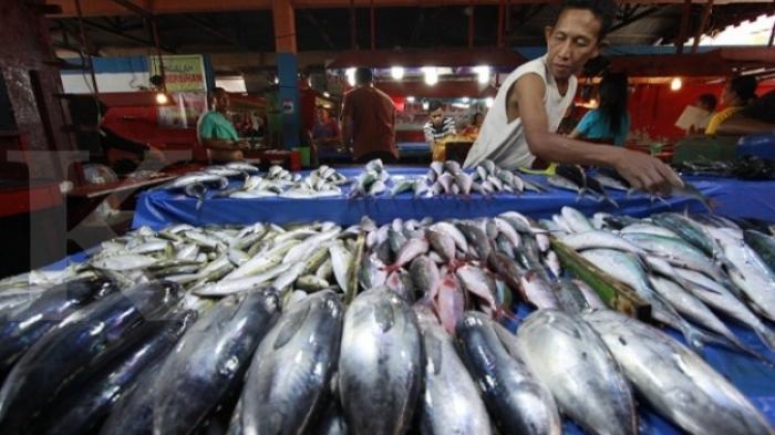 Cuaca Buruk, Harga Ikan Laut Melambung di Agam